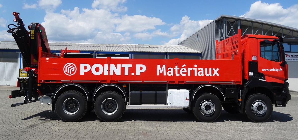 Mathis carrosserie montage plateau poids lourd montage plateau camion - Point p ivry ...
